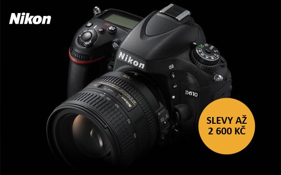 Fotoaparáty Nikon jsou nyní levnější až o 2 600 Kč