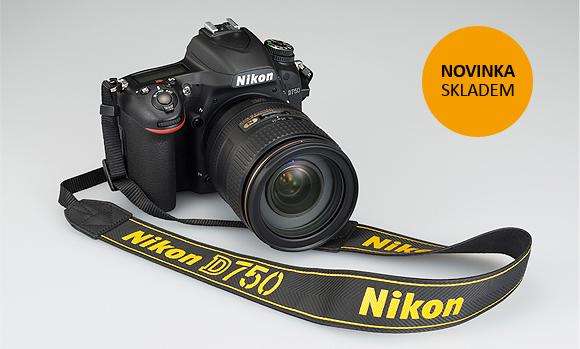 Nový Nikon D750 máme skladem