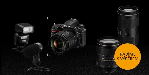 Přijďte na přednášky Jak na výběr zrcadlovky a příslušenství Nikon