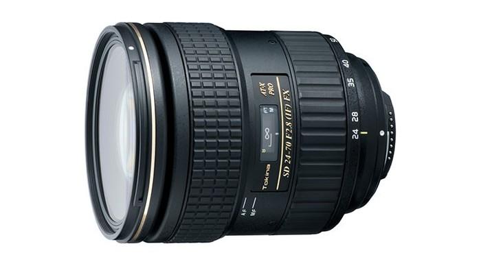 Tokina představila základní fullframe zoom AT-X 24-70 mm f/2.8 PRO FX