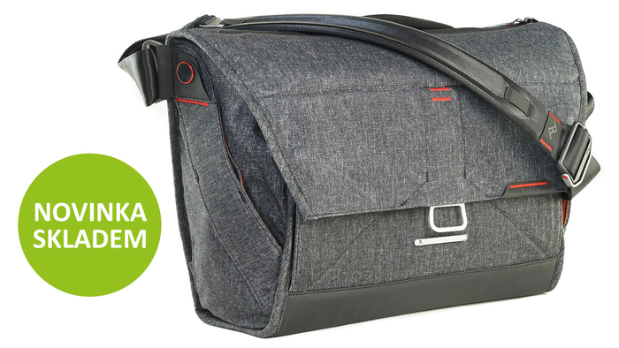 Naskladnili jsme prémiovou brašnu Peak Design Everyday Messenger