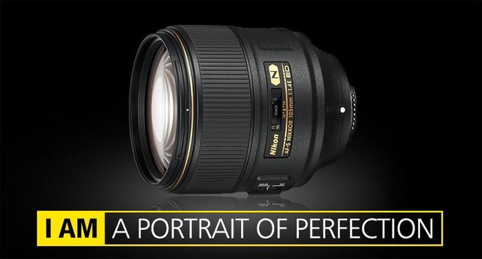 Špičkový portrétní objektiv  Nikon AF-S 105mm f/1.4E ED už máme skladem