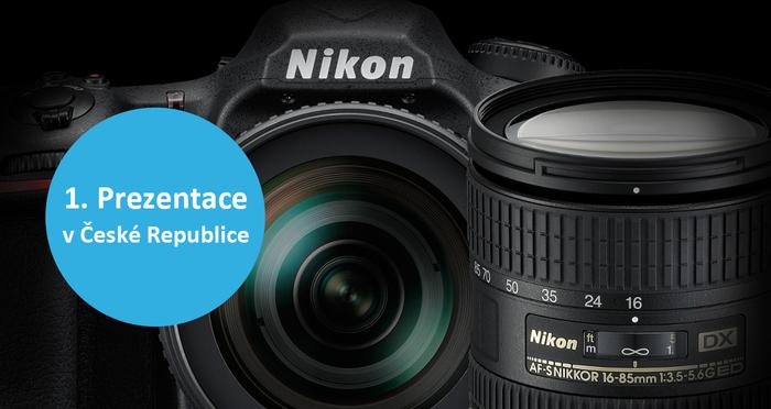 Přijďte na první představení novinek Nikon uvedených na veletrhu Photokina 2016