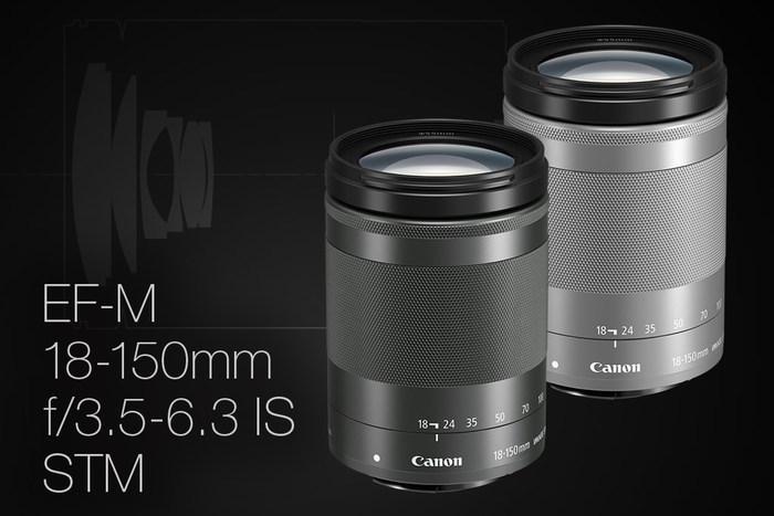 Univerzální objektiv Canon EF-M 18-150mm f/3,5-6,3 IS STM už máme skladem