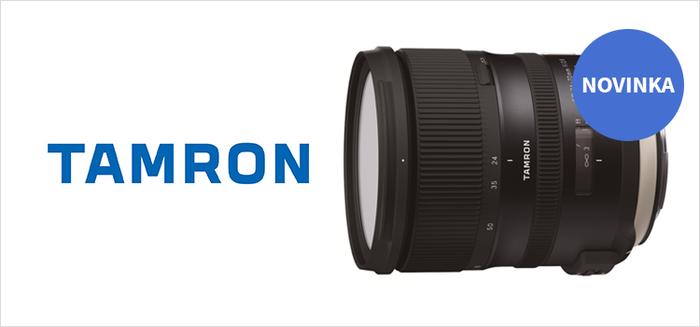 Nový stabilizovaný Tamron SP 24-70 f/2.8 G2 je zde