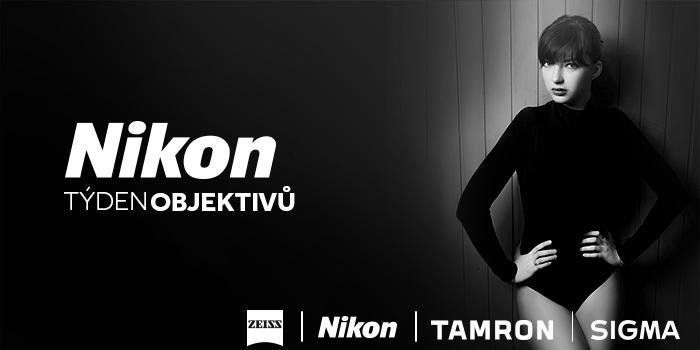 Přijďte si otestovat nejlepší objektivy pro Nikon, získejte dárky a navíc překvapení pro každého!