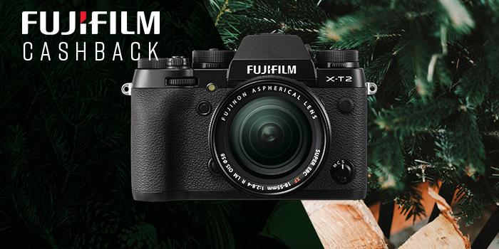 Zimní cashback Fujifilm přichází se skvělými nabídkami