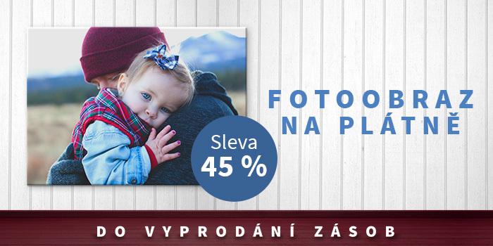 Fotoobraz na plátno se slevou až 45 %