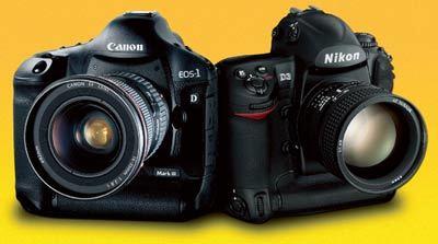 Vyzkoušeli jsme v praxi Nikon D3 a Canon EOS 1Ds MK III !