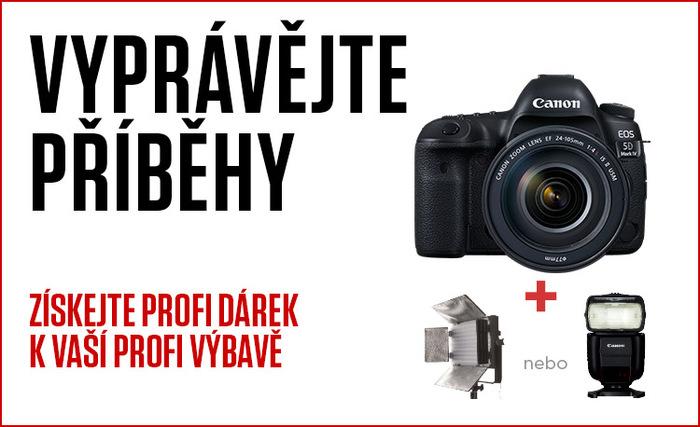Povězte svůj příběh s novou výbavou od Canonu