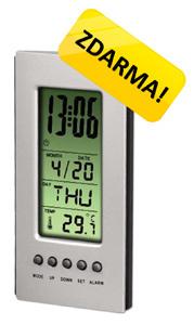 Digitální LCD budík ke kompaktním fotoaparátům ZDARMA!