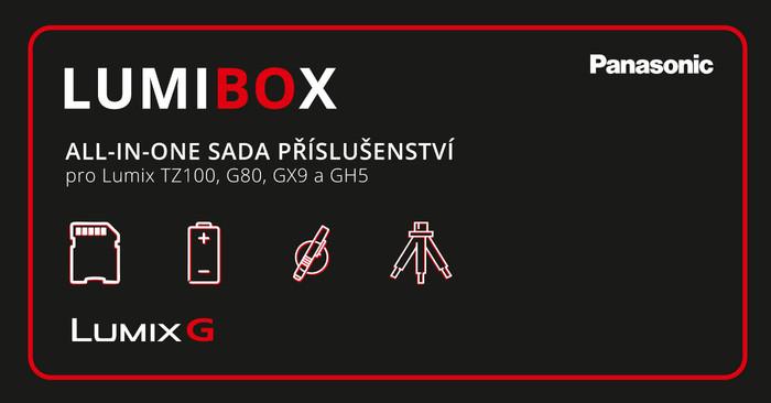 PRODLOUŽENO! Sada LumiBox k vybraným fotoaparátům Panasonic zdarma