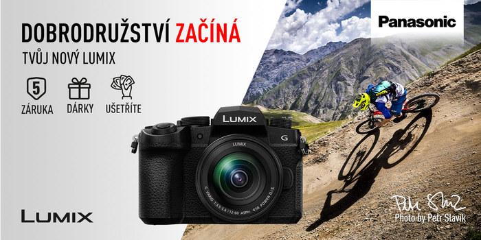 Zažijte dobrodružství s fotoaparáty Panasonic! Do konce června ušetříte až 34 380 Kč