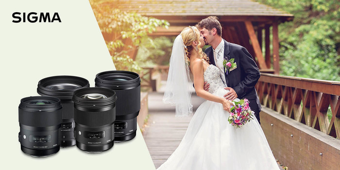 Foťte svatby pevnými objektivy Sigma