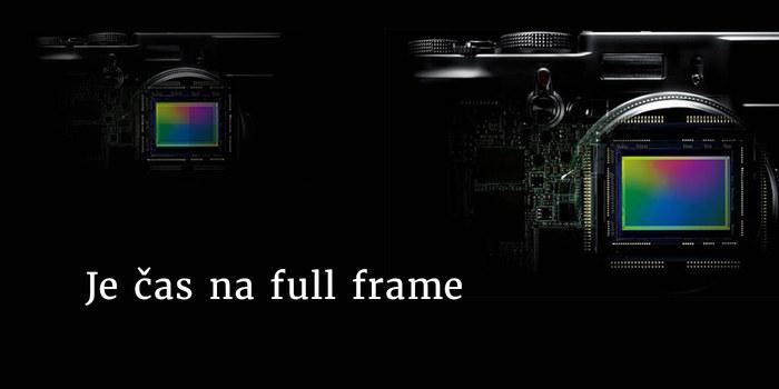 Přejděte na full frame s bonusem 10 % za váš starý foťák