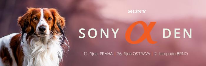 Podzimní Sony Alpha Dny jsou tady!