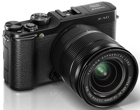 Novinky Fuji X-M1 a objektiv XC16-50mm F3.5-5.6 OIS oficiálně představeny