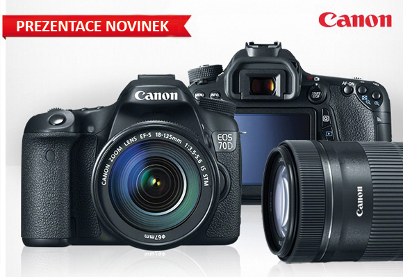 Přijďte na prezentaci novinek Canon