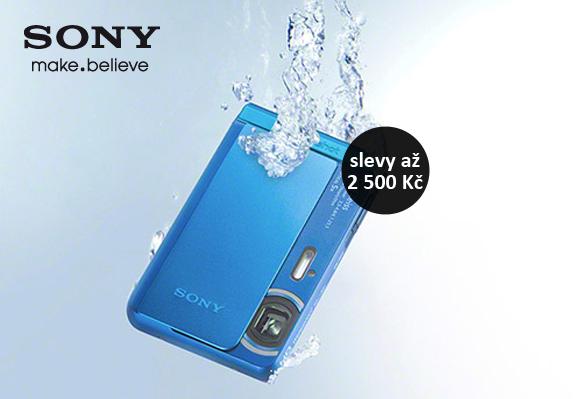 Slevy kompaktů Sony až 2 500 Kč
