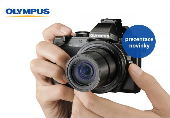 Přijďte si vyzkoušet nový Olympus STYLUS 1 a další fotoaparáty řady OM-D a PEN