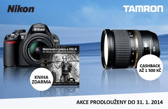 Akční nabídky Nikon a Tamron jsou prodlouženy až do konce ledna
