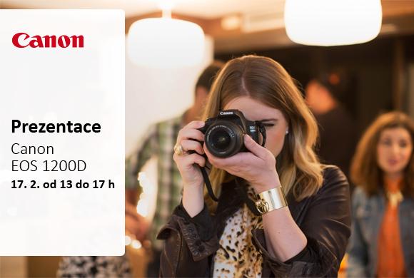 Prezentace zrcadlovky Canon EOS 1200D a dalších novinek