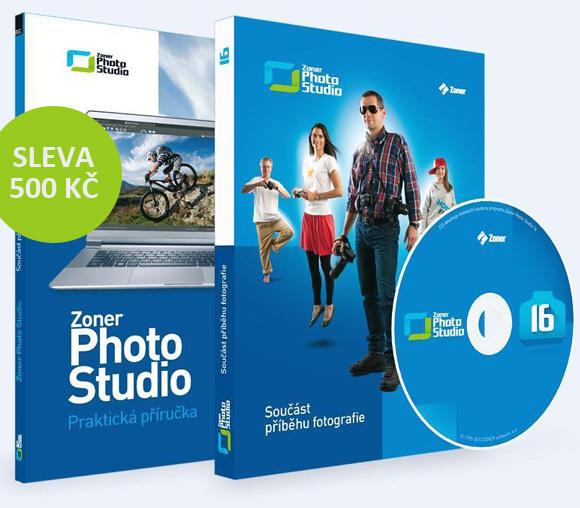 Sleva 500 Kč na Zoner Photo Studio 16 Professional