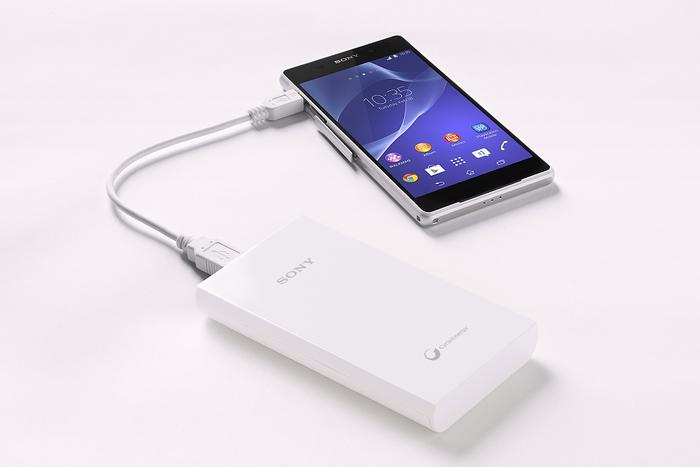 Sony představuje novou řadu přenosných USB dobíjecích zdrojů
