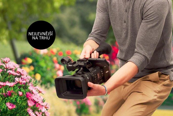 Profesionální 4K kamera Sony FDR-AX1E za výjimečnou cenu 109 990 Kč