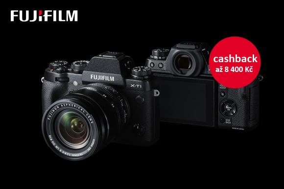Začínají zpětné slevy Fujifilm
