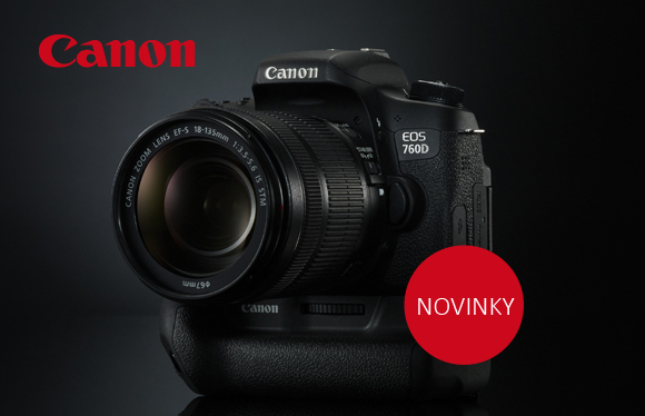 Nové zrcadlovky Canon EOS 750D, Canon EOS 760D a objektiv Canon EF 11-24mm f/4L USM