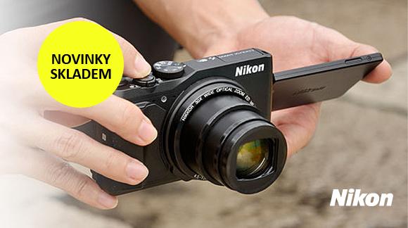 Nové kompakty Nikon skladem, ke všem dostanete dárek zdarma