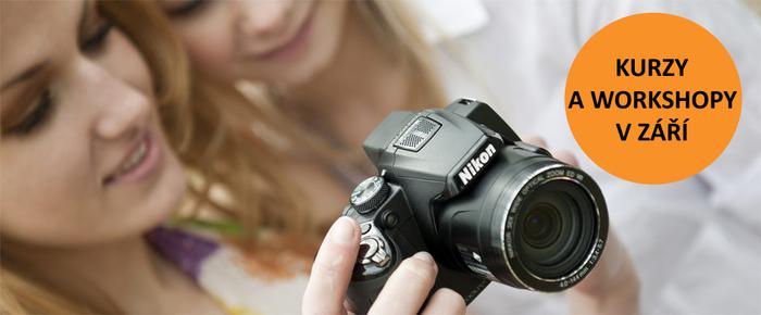 Přijďte na záříjové termíny fotografických kurzů a dílen