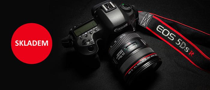 Očekávaný Canon EOS 5DS R je ode dneška skladem