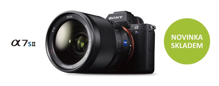 Novinka Sony Alpha A7S II s profesionálním 4K videozáznamem je již skladem