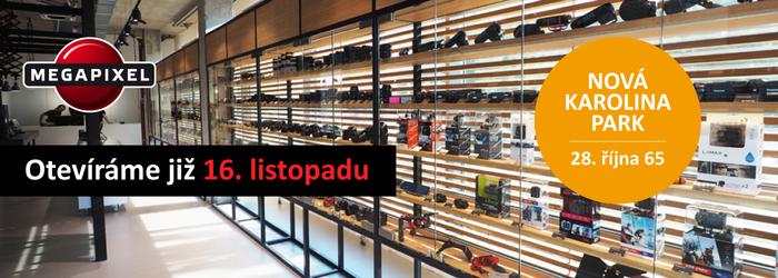 Megapixel v Ostravě se stěhuje. Otevíráme již 16. listopadu.