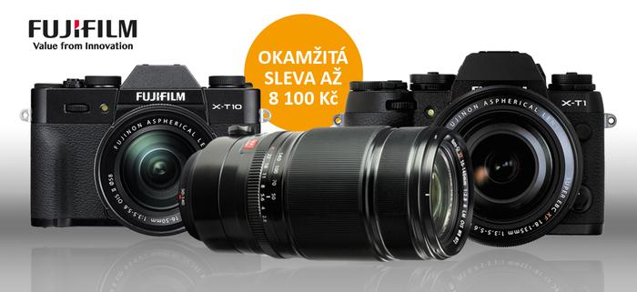 Pořiďte si výjimečné sety Fujifilm a získáte okamžitou slevu až 8 100 Kč