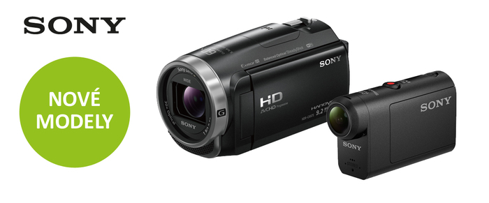 Vyberte si kameru z nejnovějších modelů Sony