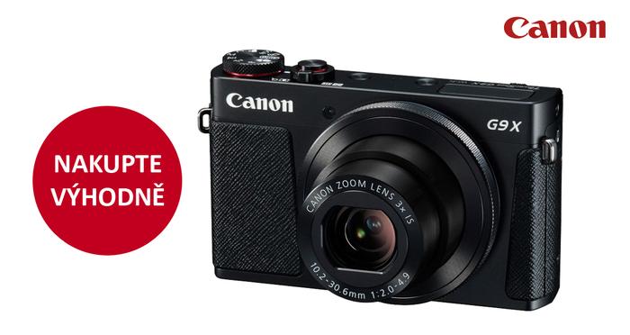 Pořiďte si na prázdniny nový kompakt Canon a ušetřete 1 100 Kč