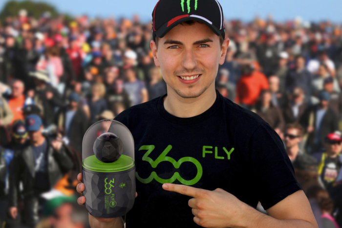 Digitální kamera Fly 360° 4K v prodeji!