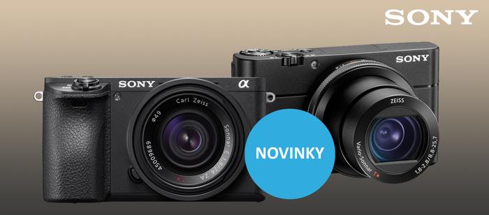 Sony představuje pátou generaci modelu RX100 a systémový kompakt Alpha A6500