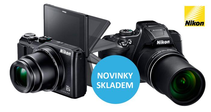 Nikon Coolpix A900 a B700 máme již skladem