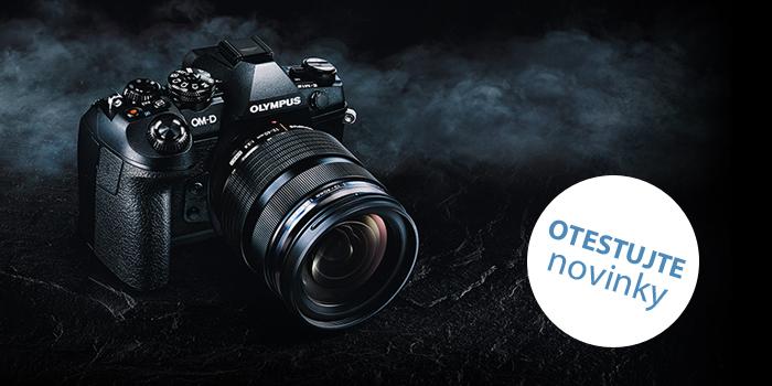 Přijďte si vyzkoušet novinku Olympus E-M1 Mk II a další fototechniku Olympus