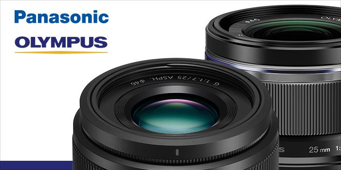 Získejte objektiv zdarma k Olympus PEN-F a Panasonic GH5