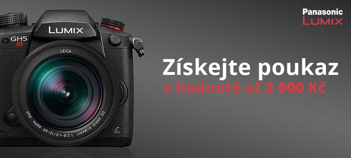 Slevový poukaz až 2 000 Kč na nákup objektivů a příslušenství k fotoaparátům Panasonic