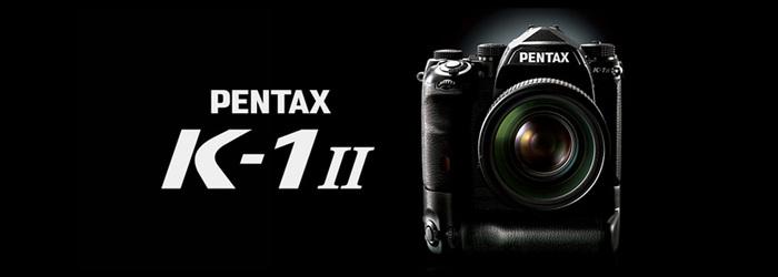 Představení novinky PENTAX K-1 Mark II