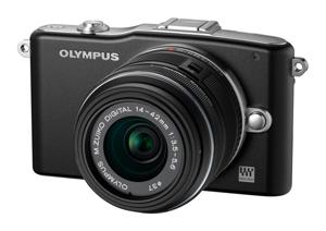 Olympus E-PM1 již v prodeji