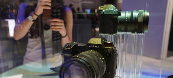 Panasonic střípky z Photokiny