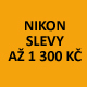 Slevy zrcadlovky a kompaktů Nikon