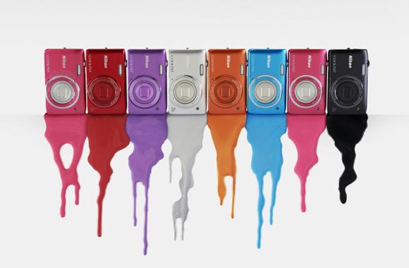 Stylový kompakt Nikon COOLPIX S3500 oslní nejen paletou zářivých barev